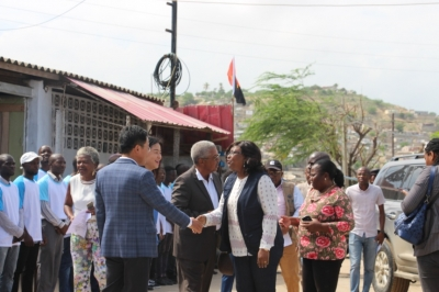 Angola Minister of Fisheries visited Yewhing Group – Seahawk Pescas